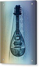 Napolitan Mandolin Acrylic Print by Bill Cannon
