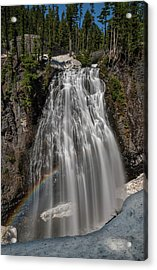 Narada Falls In Winter Acrylic Print
