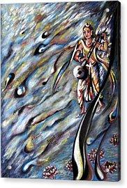 Narada Muni Acrylic Print