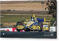 Marco Andretti 2 Acrylic Print by Webb Canepa