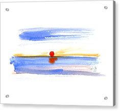 Narragansett Sunrise Acrylic Print