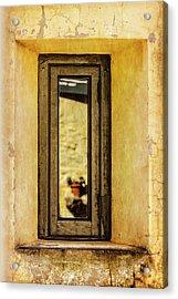 Narrow Reflections Acrylic Print
