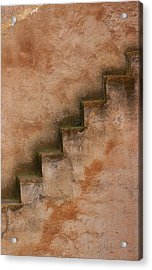 Acrylic Print featuring the photograph Narrow Stairs by Ramona Johnston