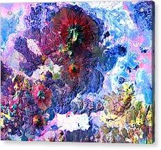 Nasa Image-andes Mts., Chile - Bolivia-2  Acrylic Print