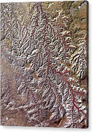 Nasa Image-canyonlands National Park, Utah-2 Acrylic Print