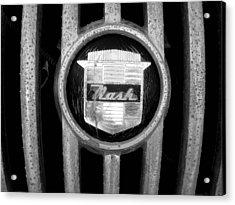 Nash Emblem Acrylic Print by Audrey Venute