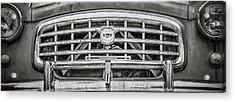 Nash Rambler - Black And White Acrylic Print