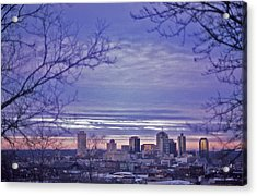 Nashville From The Distance - 2 Acrylic Print by Randy Muir