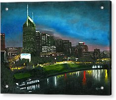 Nashville Nights Acrylic Print