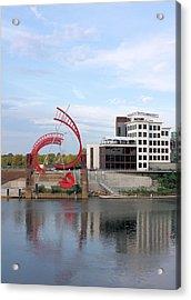 Nashville Riverfront Acrylic Print