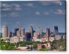 Nashville Skyline 1 Acrylic Print by Douglas Barnett