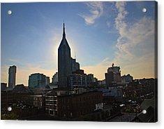Nashville Skyline Acrylic Print by Susanne Van Hulst