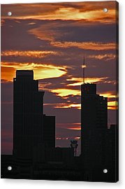 Nashville Sunrise - 3 Acrylic Print by Randy Muir