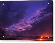 Nashville Sunset Acrylic Print by Randy Muir