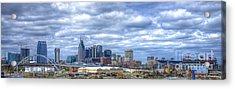 Nashville Tennessee Cityscape Art Acrylic Print