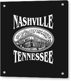 Nashville Tennessee Design Acrylic Print