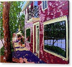 Nashville Upside Down Acrylic Print by Stan Hamilton