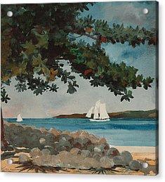 Nassau   Water And Sailboat Acrylic Print