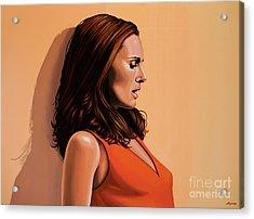 Natalie Portman 2 Acrylic Print by Paul Meijering