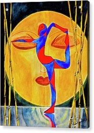 Nataraja Asana Acrylic Print