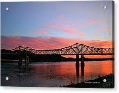 Natchez Sunset Acrylic Print