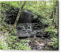Natchez Trace Waterfall Acrylic Print