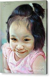 Nathakamon Phanwichien Acrylic Print by Chonkhet Phanwichien