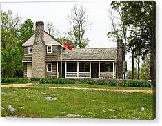 Nathan Bedford Forrest Boyhood Home 3 Acrylic Print by Douglas Barnett