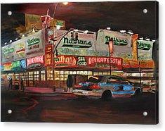 Nathan's Acrylic Print by Wayne Pearce