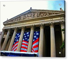 National Archive Building Acrylic Print by Joyce Kimble Smith