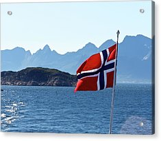 National Day Of Norway In May Acrylic Print
