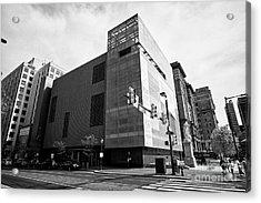 National Museum Of American Jewish History Philadelphia Usa Acrylic Print