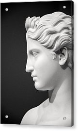 National Portrait Gallery Statue Profile Acrylic Print