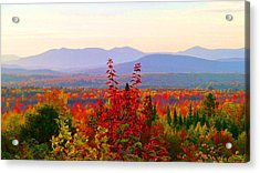 National Scenic Byway Acrylic Print