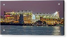Nationals Park - Baseball Stadium - Washington Dc Acrylic Print by Brendan Reals