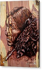 Native Acrylic Print by Amanda Hukill
