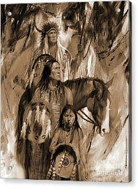 Native American 456p Acrylic Print