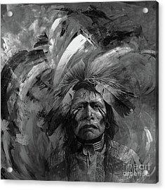 Native American 5545l Acrylic Print