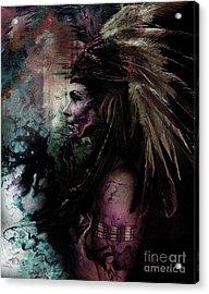 Native American Fathers Acrylic Print