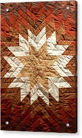 Native American Great Plains Indian Artwork Vertical 01 Acrylic Print by Thomas Woolworth