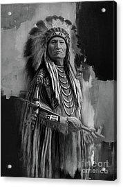 Native American Indian Acrylic Print