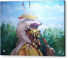 Native American Acrylic Print