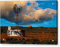 Native American Windmill Acrylic Print