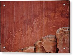 Native Art Acrylic Print