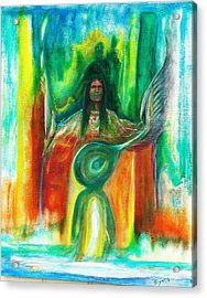 Native Awakenings Acrylic Print