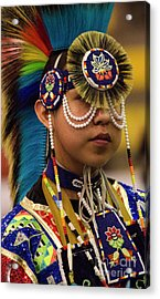 Native Pride 19 Acrylic Print by Bob Christopher