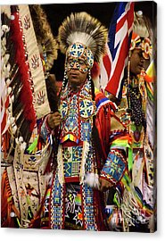 Native Pride 24 Acrylic Print by Bob Christopher