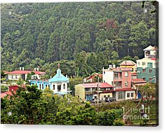 Acrylic Print featuring the photograph Native Village In Taiwan by Yali Shi