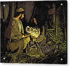 Nativity Scene Acrylic Print