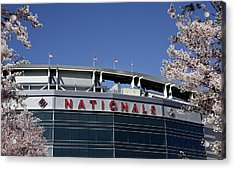 Nats Park - Washington Dc Acrylic Print by Brendan Reals